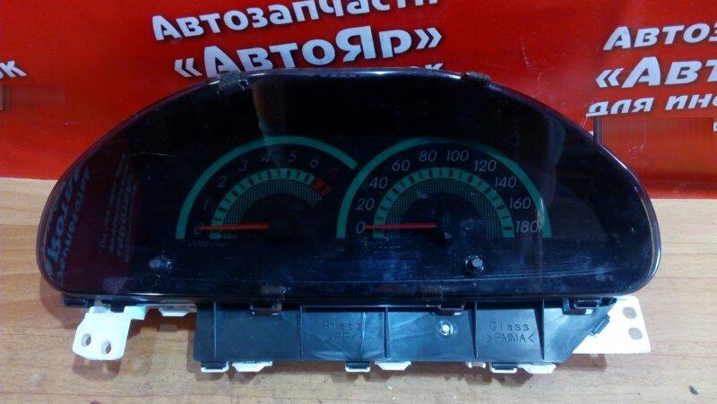 Комбинация приборов Toyota Porte NNP11 1NZ-FE 2004 257430-1180 / 83800-5С011 А/Т, с тахометром, оптитрон