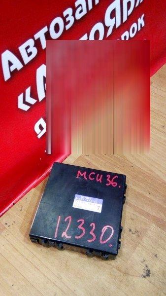 Блок управления кондиционером Toyota Harrier MCU36W 1MZ-FE 2005 88650-48070