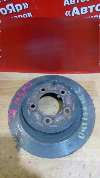Диск тормозной Mitsubishi Outlander Xl CW5W 4B12 2007 задний 4615A010, 302мм.