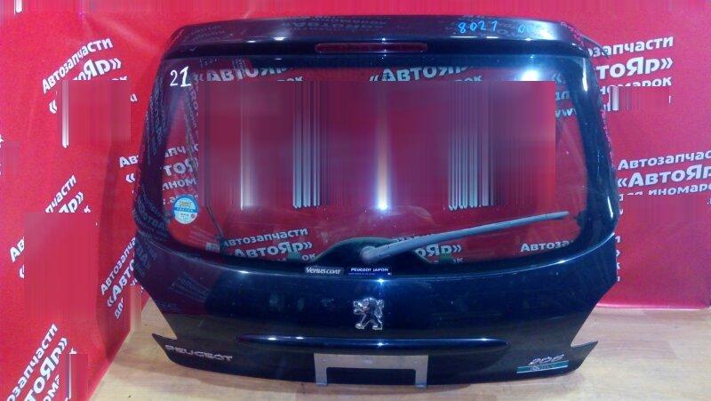 Дверь задняя Peugeot 206 NFU 2004 дворник, хэтчбэк