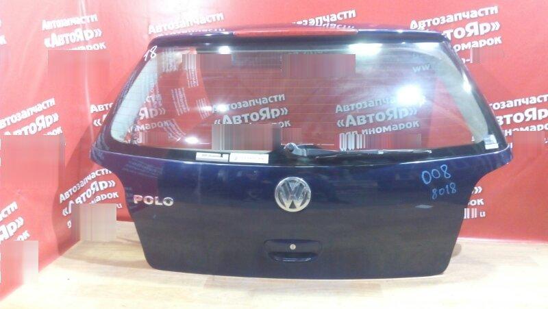 Дверь задняя Volkswagen Polo 9N3 BBY дворник, есть жук, скол у стопа, все нафото