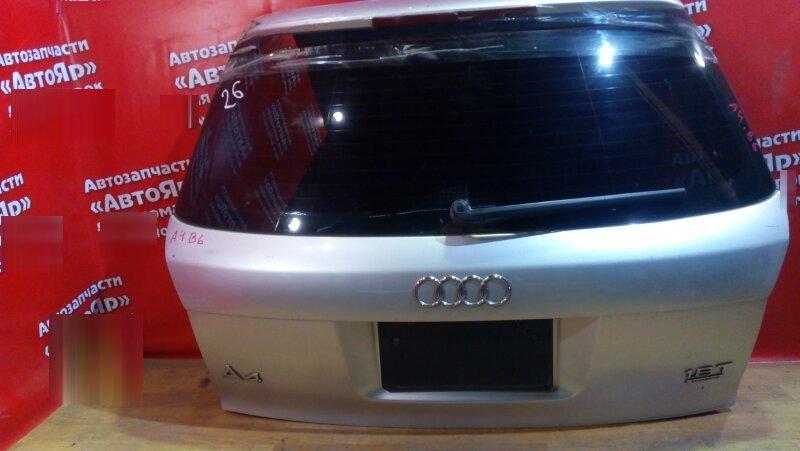 Дверь задняя Audi A4 B6 AMB 2002 дворник