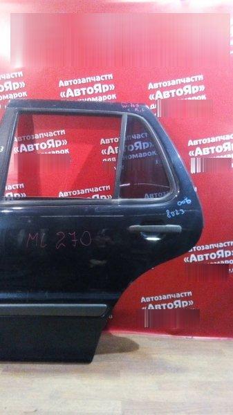 Стекло боковое Mercedes Ml270 W163 OM612.963 2000 заднее левое форточка(треугольник)