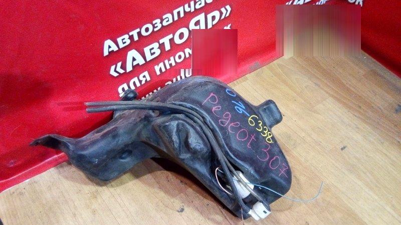 Бачок стеклоомывателя Peugeot 206 NFU 2004 1 моторчик, моторчик есть, горловины нет
