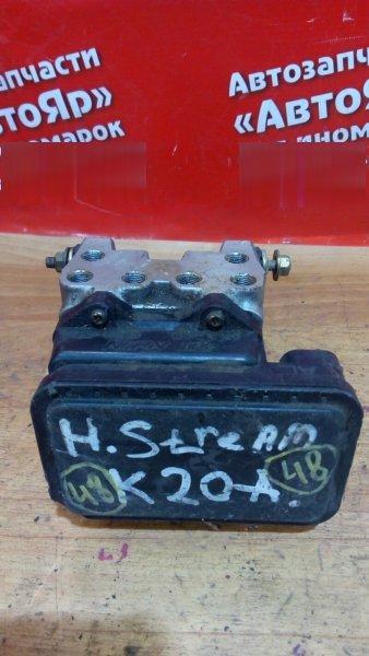 Блок abs Honda Stream RN3 K20A 2001 передний