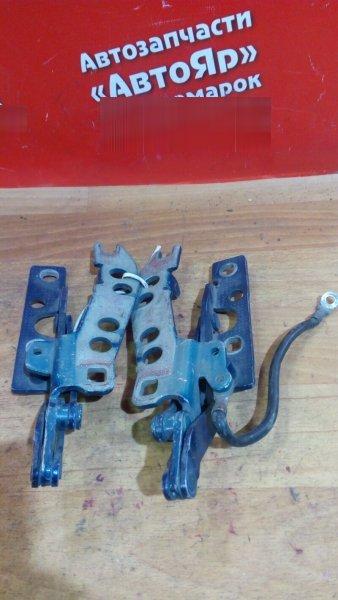 Петля капота Bmw 528I E39 M52 комплект синий