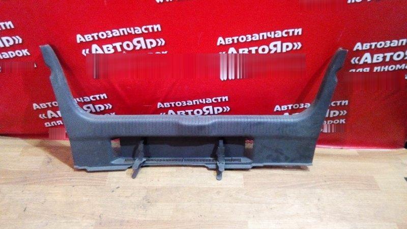 Накладка багажника Volkswagen Polo 9N3 BBY накладка на замок багажника черная