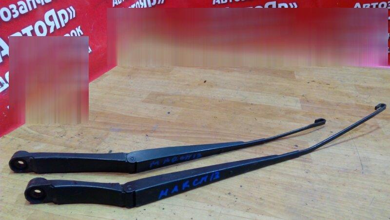 Щетка стеклоочистителя Nissan March K13 HR12DE 2011 передняя комплект 2шт.
