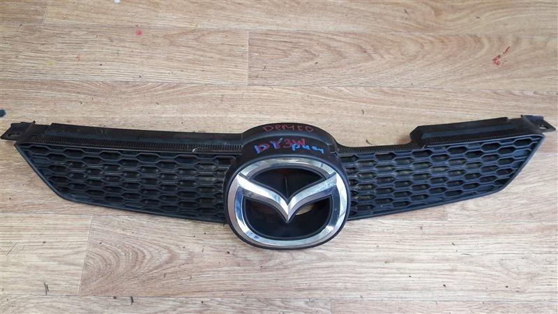 Решетка радиатора Mazda Demio DY3W ZJ-VE 2006