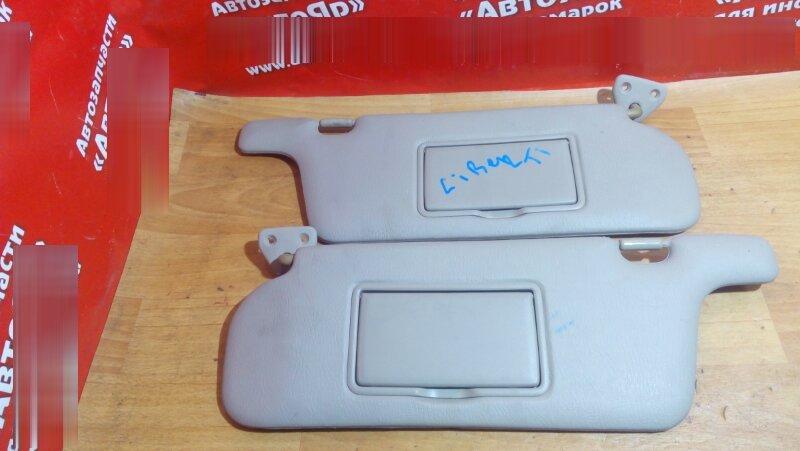 Солнцезащитный козырек Nissan Liberty RM12 QR20DE 2004 комплект 2 шт.
