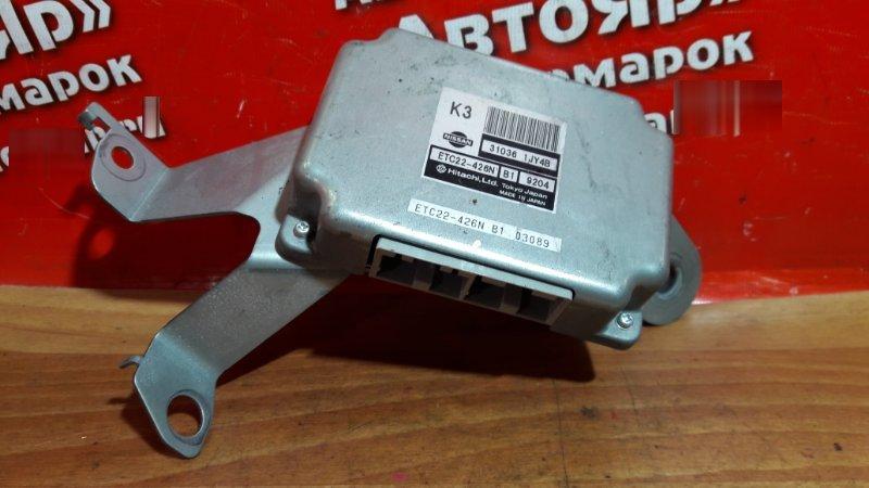 Блок переключения кпп Nissan Tiida Latio SC11 HR15DE 2005 31036-1JY4B, ETC22-426N