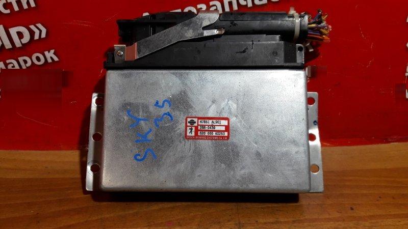 Блок управления abs Nissan Skyline PV35 VQ35DE 2002 47851-AL901