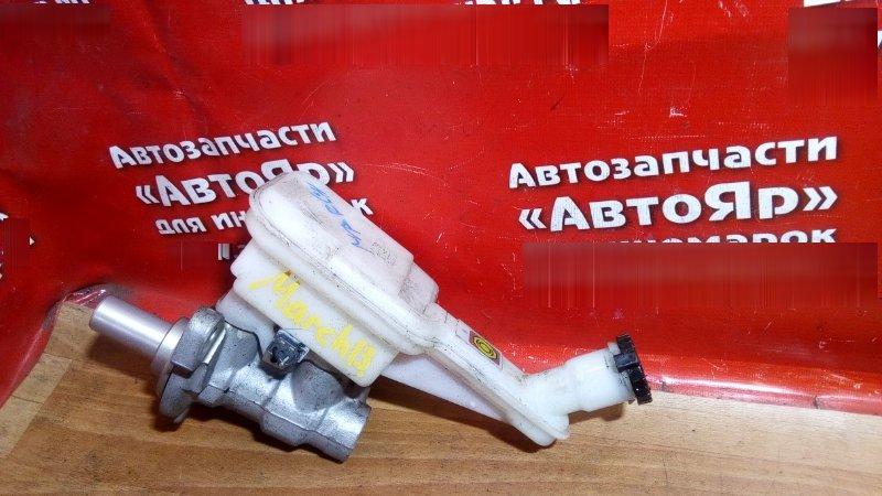 Главный тормозной цилиндр Nissan March K13 HR12DE 2011