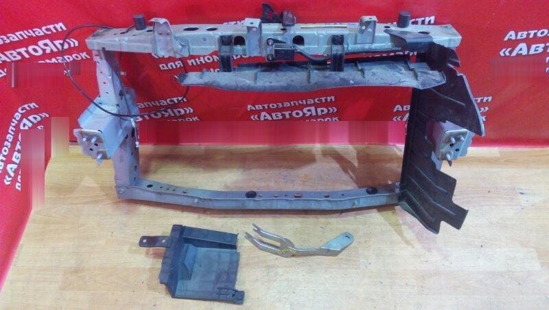 Рамка радиатора Nissan March K13 HR12DE 2011 с замком, лев.лонж. 26см., прав.лонж.25см.