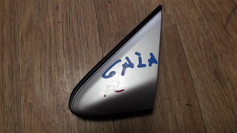 Накладка на зеркало Toyota Gaia ACM10G 1AZ-FSE 2002 передняя левая 60118-44020