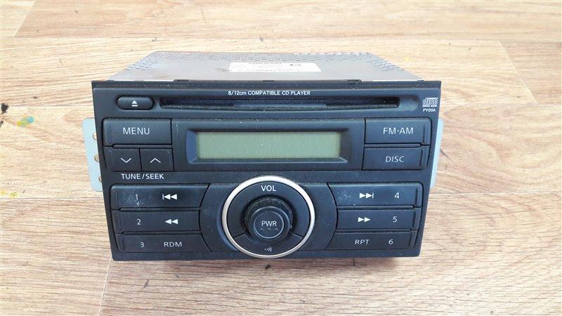 Магнитола Nissan Tiida Latio SC11 HR15DE 2005 28185-ED200