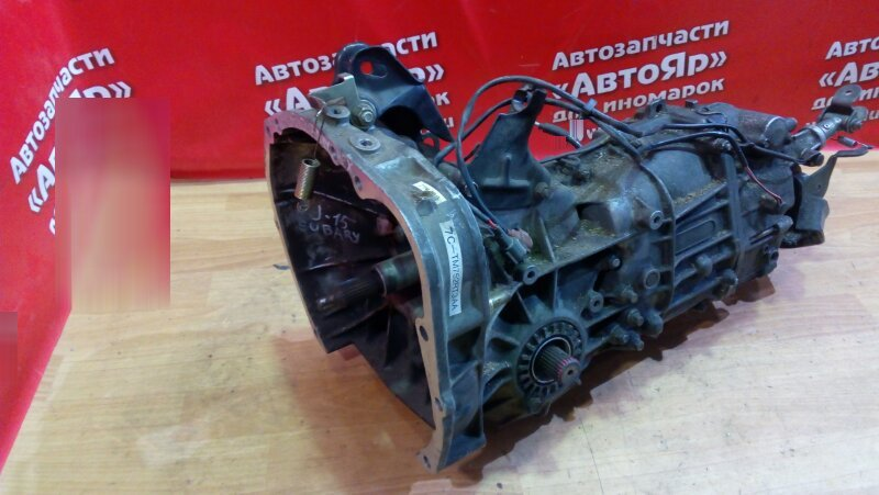 Мкпп Subaru Impreza GF3 EJ16E 7C-TM752RT3AA, 2wd