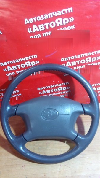 Airbag на руль Toyota Chaser JZX105 1JZ-GE 1998 с патроном, рулем(кожа)