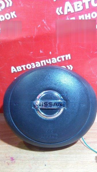 Airbag на руль Nissan March K13 HR12DE 2011 с патроном