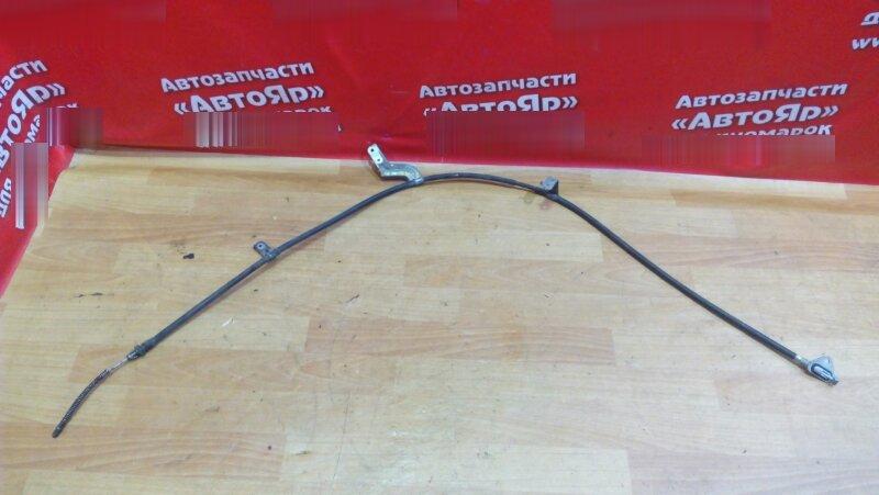 Тросик ручника Nissan March K13 HR12DE 2011 левый
