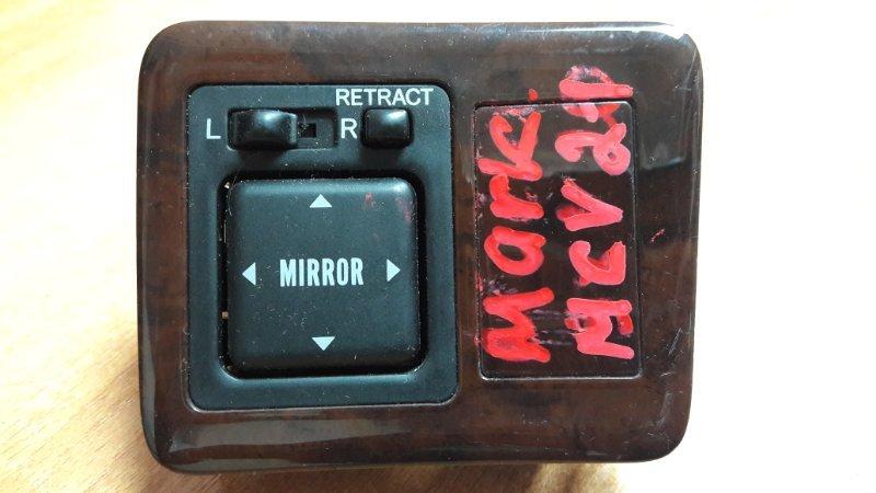 Блок управления зеркалами Toyota Markii Qualis MCV21 блок упр зерк+ коррект.света+ кнопка