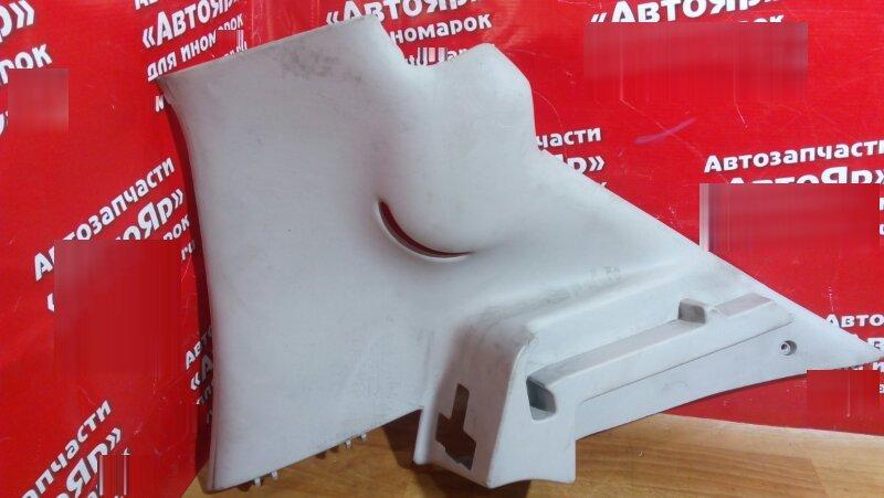 Накладка пластиковая в салон Peugeot 206 NFU задняя правая накладка на заднюю стойку серая
