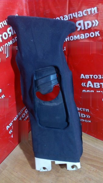 Накладка пластиковая в салон Bmw 318I E46 M43 левая накладка на среднюю стойку верх черная