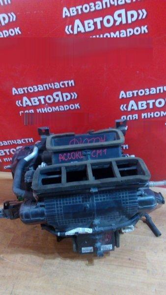 Корпус вентилятора отопителя Honda Accord CM1 K20A 2005 передний КОРПУС ПЕЧКИ С 2-Я РАДИАТОРАМИ