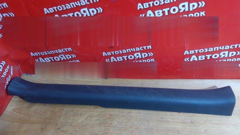 Накладка пластиковая в салон Toyota Vitz KSP90 1KR-FE передняя левая на порог