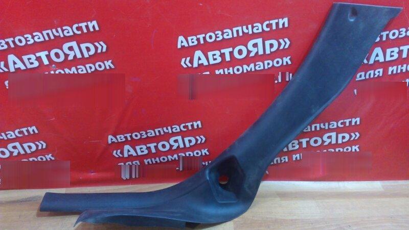 Накладка пластиковая в салон Peugeot 307 2004 задняя правая на порог