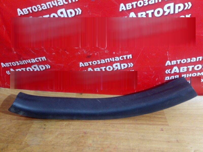 Накладка пластиковая в салон Toyota Vitz KSP90 1KR-FE задняя левая на порог