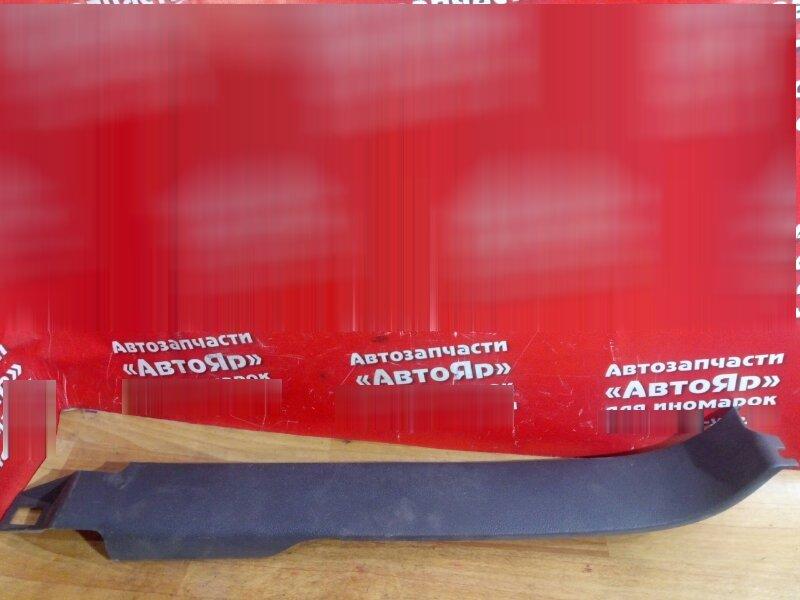 Накладка пластиковая в салон Volkswagen Touran 2004 задняя правая на порог