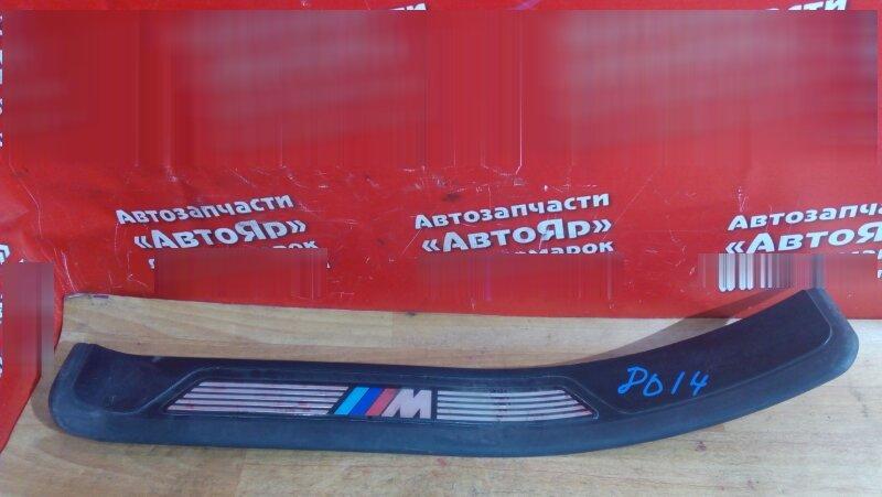 Накладка пластиковая в салон Bmw 528I E39 задняя правая на порог, Комплект из четырёх