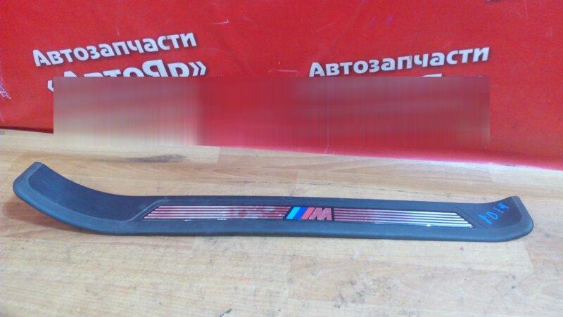 Накладка пластиковая в салон Bmw 528I E39 передняя левая на порог, Комплект из четырёх