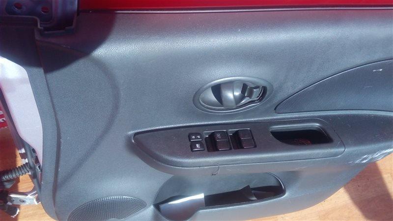 Блок управления стеклоподъемниками Nissan March K13 HR12DE 2011 передний правый