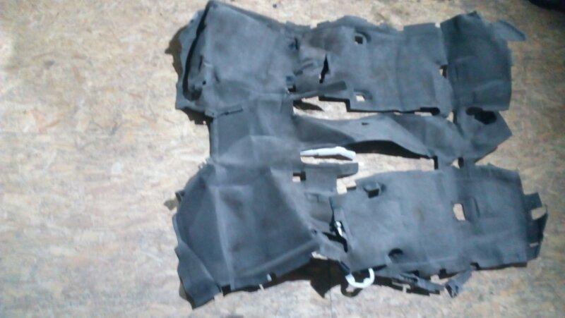 Обшивка пола Honda Edix BE3 D17A