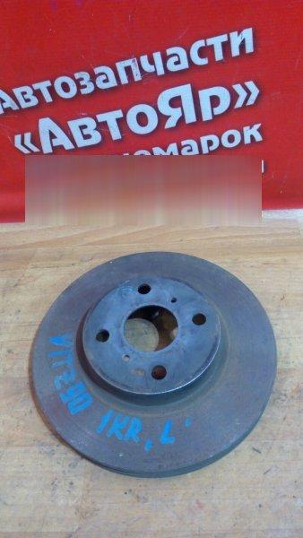 Диск тормозной Toyota Vitz KSP90 1KR-FE передний 4шп 255 mm