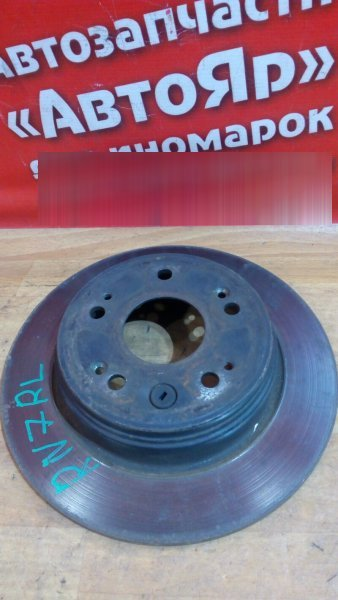 Диск тормозной Honda Stream RN7 R18A 2006 задний задний левый
