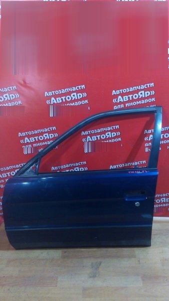 Дверь боковая Toyota Corsa EL53 5E-FE 1997 передняя левая цена за голую, нет наруж. ручки, в сборе