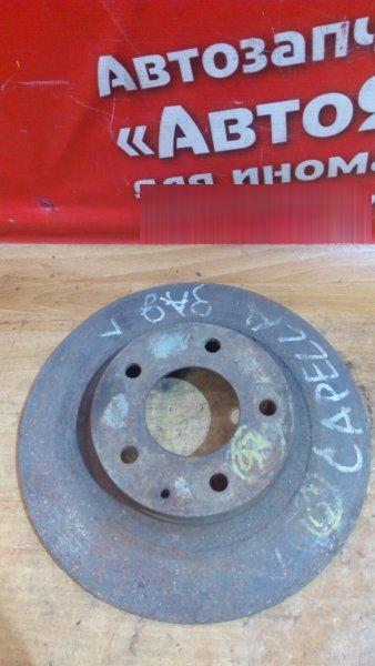 Диск тормозной Mazda Capella Wagon GWEW FS-DE 2000 задний