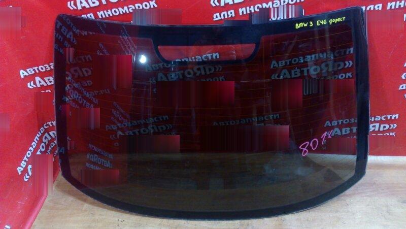 Заднее стекло Bmw 320I E46 N46B20 2004 заднее, контрактное, до рестайлинг