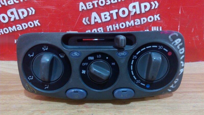 Блок управления климат-контролем Toyota Raum EXZ10 5E-FE 1999
