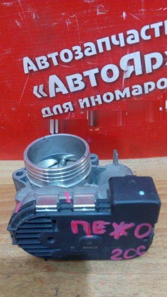Заслонка дроссельная Peugeot 206 NFU 2004 Bosch 0 280 750 085