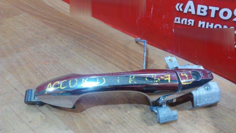 Ручка двери Honda Accord CL7 передняя правая внешняя