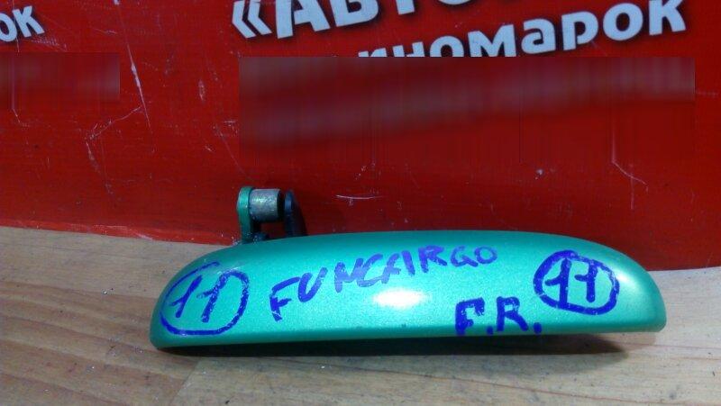 Ручка двери Toyota Funcargo NCP20 2NZ-FE 2001 передняя правая внешняя и внутренняя