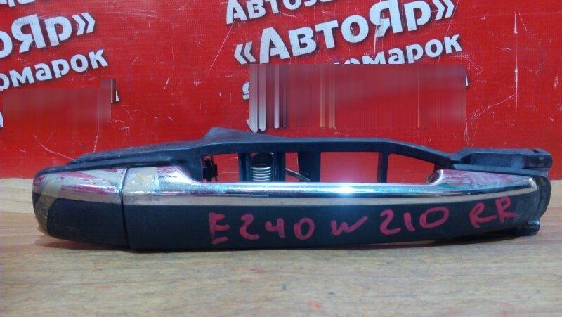 Ручка двери внешняя Mercedes E240 W210 112.911 задняя правая