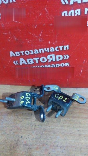 Петля дверная Honda Fit GD2 L13A 2006 задняя правая 2шт комплект