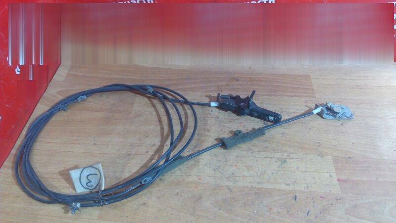 Тросик лючка топливного бака Nissan Wingroad WFY11 QG15DE 1999 С РУЧКОЙ И ЗАМКОМ