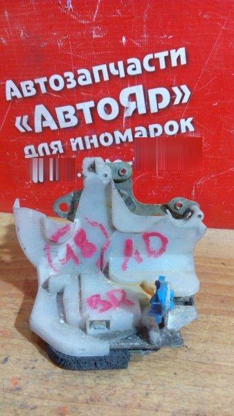 Замок двери Nissan Ad VFY11 QG15DE 2001 задний правый не электро