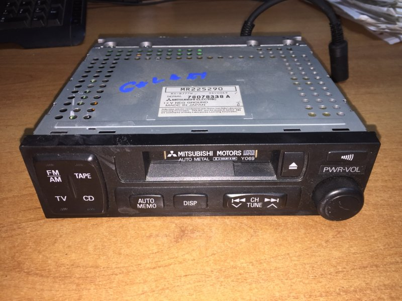 Магнитола Mitsubishi Galant EA1A 4G93 1997 MR225290